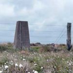 The trig point near King's Seat header image (from day 19)